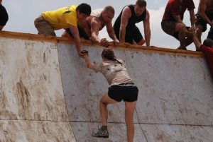 Tough Mudder obsticle help
